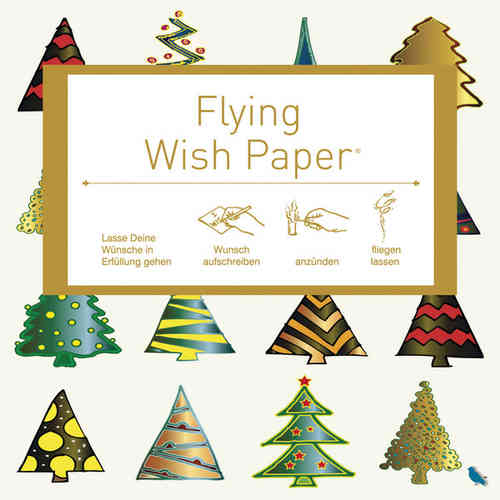 Flying wish paper mini 15 Stück