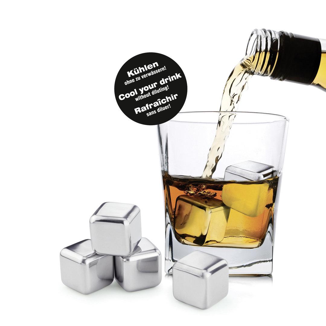 ice cubes aus edelstahl weinzubeh r gl ser und barzubeh r. Black Bedroom Furniture Sets. Home Design Ideas
